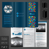Leaflet Template Design Stock Photos