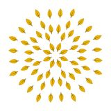 Leafs in autumn. Vector illustrations. For banners and printing stock illustration