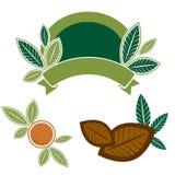 leafs för designelementmat Royaltyfri Fotografi