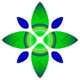 Leafs logo Stock Photography
