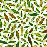 leafs mönsan seamless Royaltyfria Bilder