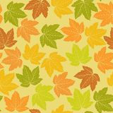 Leafs pattern Royalty Free Stock Images