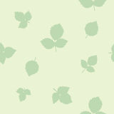 Leafs - seamless pattern Stock Photos