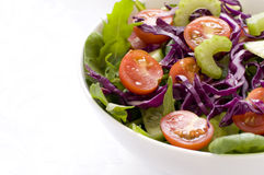 Leafy Green Mixed Salad Royalty Free Stock Photography