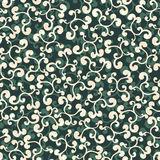 Leafy ornament. Seamless background texture with floral ornament, pattern Royalty Free Illustration