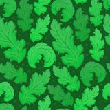 Leafy seamless background 5 Royalty Free Stock Photo
