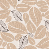 Leafy seamless Stock Photography
