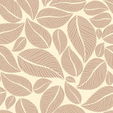 Leafy seamless Royalty Free Stock Image