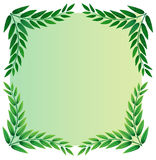 A leafy template Royalty Free Stock Images