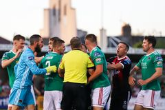 League of Ireland Premier Division match: Cork City FC vs Bohemian FC. July 5th, 2019, Cork, Ireland - League of Ireland Premier Division match: Cork City FC vs stock image