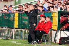 League of Ireland Premier Division match: Cork City FC vs Bohemian FC. July 5th, 2019, Cork, Ireland - League of Ireland Premier Division match: Cork City FC vs royalty free stock photography