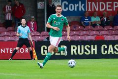League of Ireland Premier Division match between Cork City FC vs Derry City FC. June 28th, 2019, Cork, Ireland - League of Ireland Premier Division match between royalty free stock photography