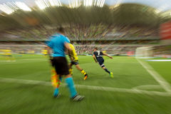 A-League. MELBOURNE, AUSTRALIA – DECEMBER 28: Hyundai A-League, Round 12. Melbourne Victory vs Central Coast Mariners. Photo: Dave Hewison royalty free stock image