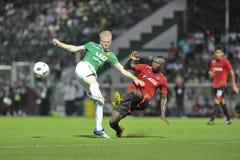 League première thaïe 2011 Photographie stock libre de droits