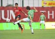 League primera tailandesa 2011 Foto de archivo libre de regalías
