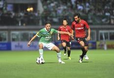League primera tailandesa 2011 Fotos de archivo libres de regalías