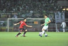 League primera tailandesa 2011 Imágenes de archivo libres de regalías