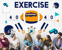 League Sport Fitness Exercise Training Teamwork Winner Concept Stock Photos