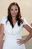 Leah Remini arrives at the ABC / Disney International Upfronts Royalty Free Stock Photos