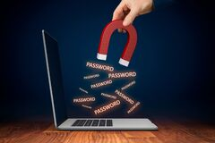 Free Leaked Pwned Passwords And Data Breach Concepts Stock Photo - 172060110