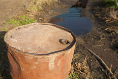 Leaking oil Stock Photos