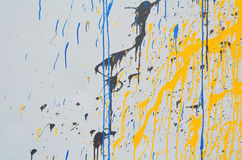 Leaking paint Stock Photography