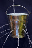 Leaky Bucket Stock Image
