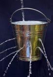 Leaky Bucket stock image