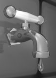 Leaky Faucet Stock Image
