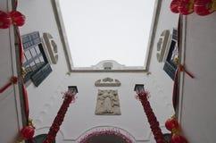Leal Senado budynku wnętrze w Macau zdjęcie royalty free