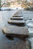 Стартовые площадки - Lealholm - северный Йоркшир - Великобритания стоковое изображение