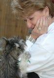 Lealtad animal Foto de archivo