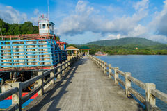 Leam Hin Seaport, Phuket Stock Photography