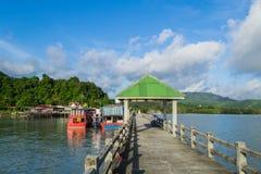Leam Hin Seaport, Phuket Stock Photo