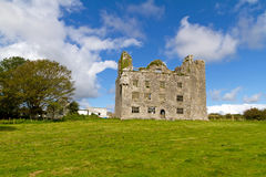 Leamaneh castle. In Burren, Co. Clare - Ireland Royalty Free Stock Photography