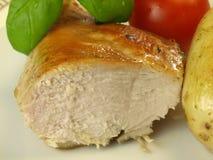 Lean chicken breast, closeup Stock Photos