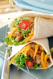 Lean chicken fajitas Royalty Free Stock Image