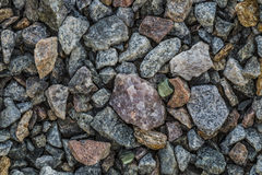 Сlean crushed stone gravel Stock Photography