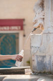 Сlean drinking water from fountain Stock Image