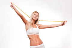 Lean and fit. Royalty Free Stock Images