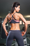 Lean and fit. Stock Photography