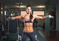 Lean and fit. Stock Image