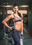 Lean and fit. Royalty Free Stock Photography