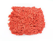 Lean Ground Beef Overhead View Royalty Free Stock Images
