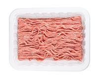 Lean ground chicken. Packaged extra lean ground chicken Royalty Free Stock Images