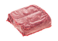 Lean ground packaged beef Stock Photos