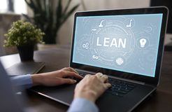 Lean manufacturing. Quality and standardization. Business process improvement. Lean manufacturing. Quality and standardization. Business process improvement stock image