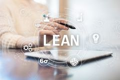 Lean manufacturing. Quality and standardization. Business process improvement. Lean manufacturing. Quality and standardization. Business process improvement stock photos