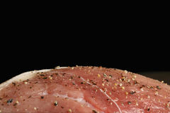 Lean meat ready fot the oven Royalty Free Stock Photography