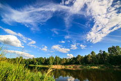 Сlean river Stock Photography